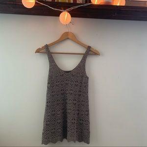 Boho Crochet style tank top